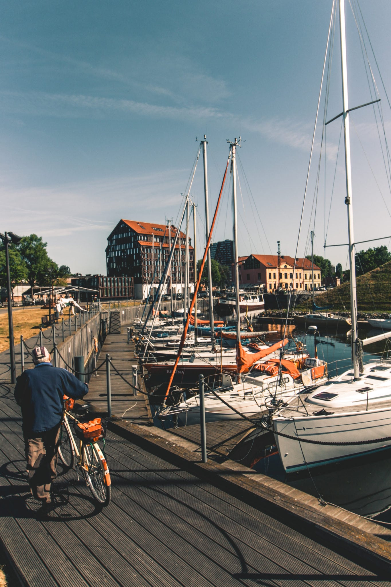 Lithuanias Main Harbour