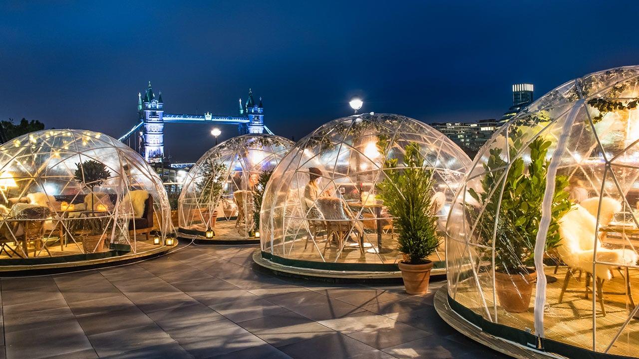 London Weekend Visit - Igloos
