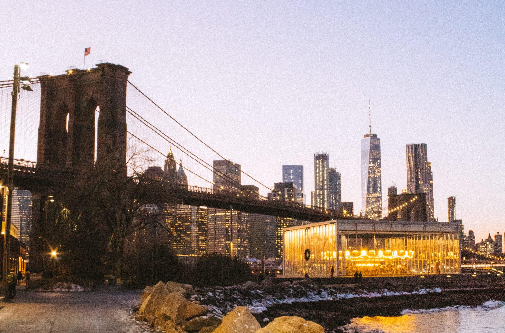 New Years Eve NYC - Dumbo - Flunking Monkey
