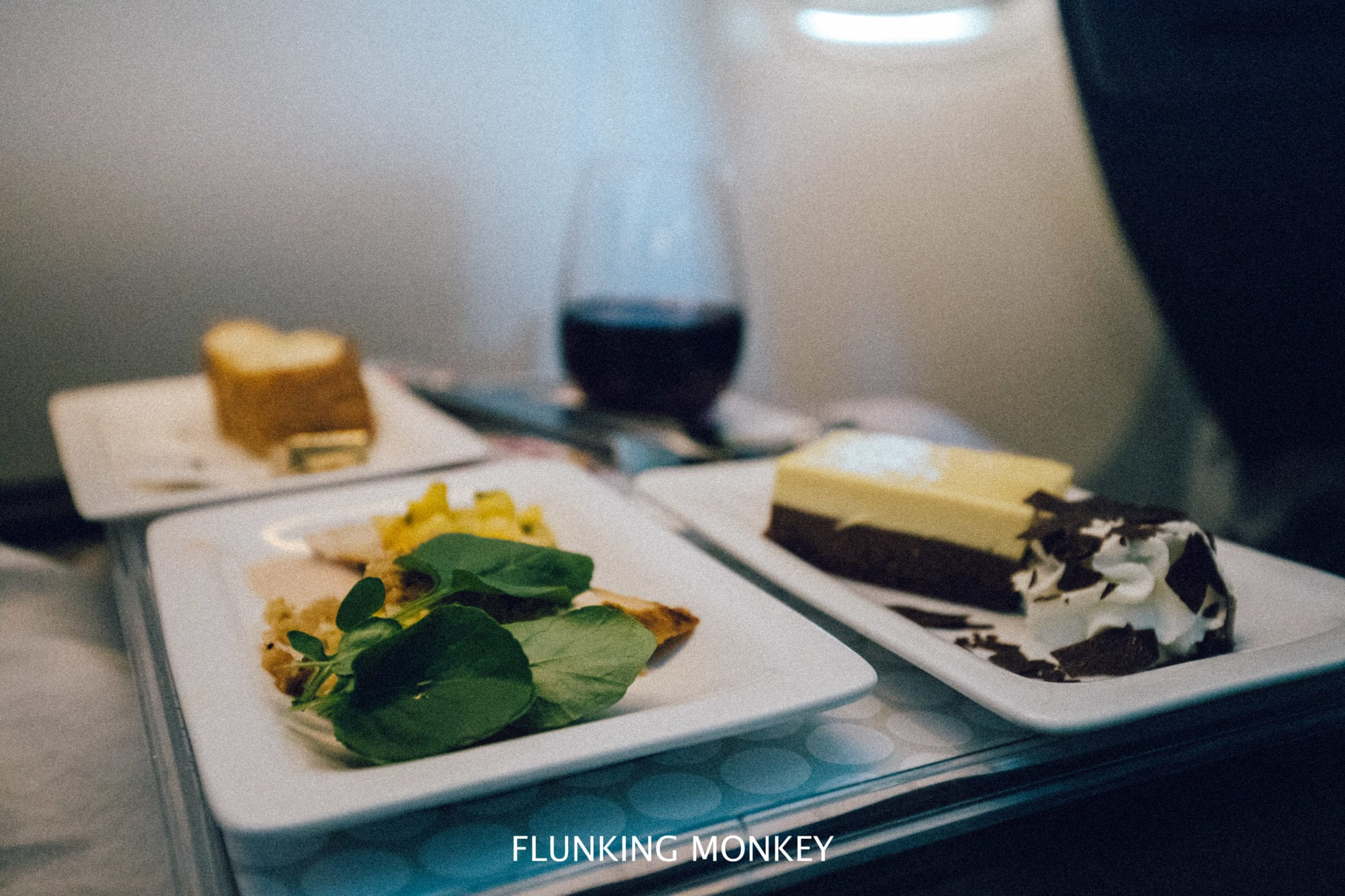 Air New Zealand - Flying With Airline Of The Year 2018 - Premium Economy Food - Flunking Monkey
