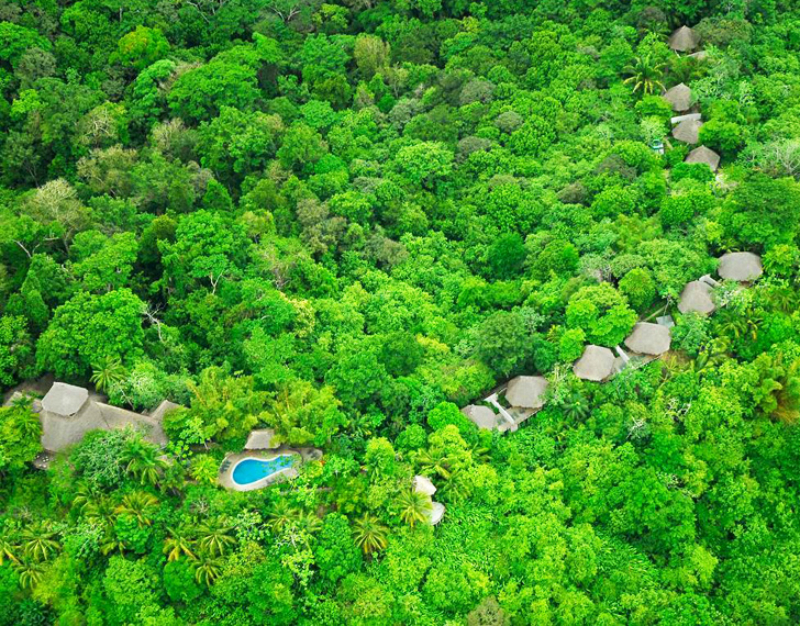 Lapa Rios Costa Rica - World's Best Eco Resorts, Eco Hotels, Ecolodges, Eco Cabins and Eco Retreats - Flunking Monkey