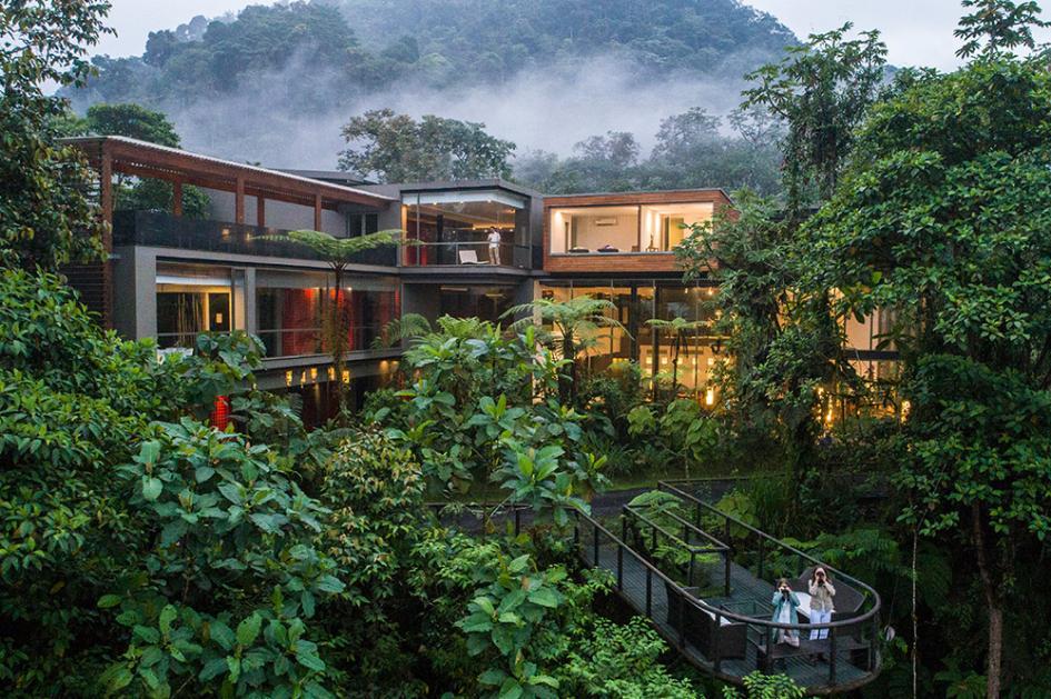 Mashpi Rainforest Eco Lodge - World's Best Eco Resorts, Eco Hotels, Ecolodges, Eco Cabins and Eco Retreats - Flunking Monkey