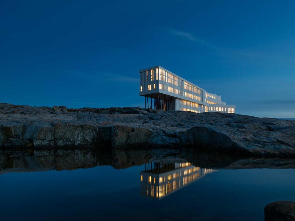 Fogo Island Inn - World's Best Eco Resorts, Eco Hotels, Ecolodges, Eco Cabins and Eco Retreats - Flunking Monkey