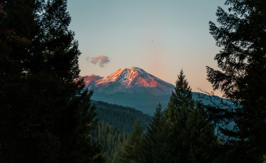 Mt Shasta - Eco travels through California green destinations